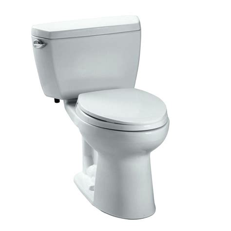 Toto Drake Eco 2 Piece 128 Gpf Elongated Toilet In Cotton