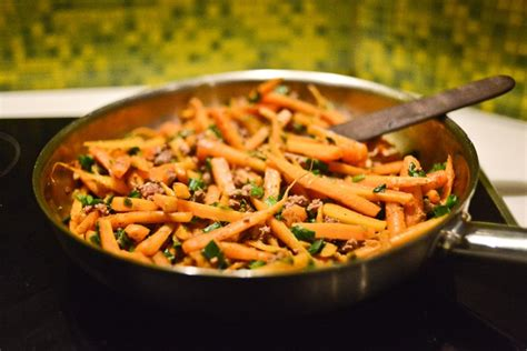 cuisiner des carottes à la poele spiced carrot and ground beef stir fry recipe chocolate