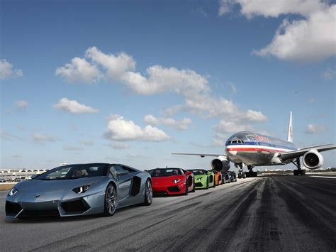 Airport Cars by Lamborghini Debuts Aventador Lp 700 4 Roadster Business