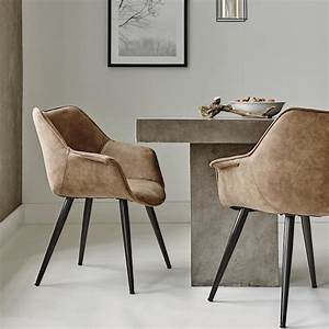 chaises cuir salle a manger idees de decoration With chaises en cuir pour salle a manger