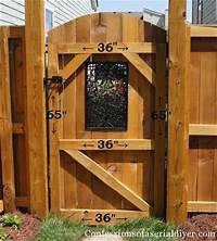 how to build a wooden gate How a Girl Built a Gate | Confessions of a Serial Do-it-Yourselfer