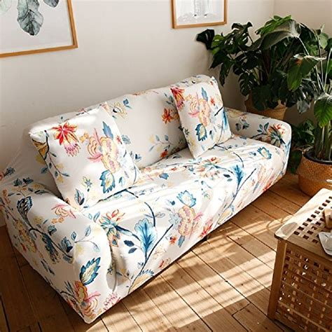 Loveseat Slipcover Pattern by Hotniu Stretch Covers Pattern Sofa Slipcovers