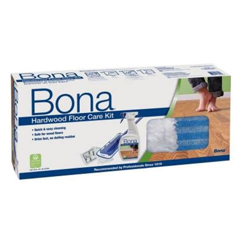 Bona Laminate Floor Cleaner Home Depot by Bona Hardwood Floor Care System Wm710013358 The Home Depot