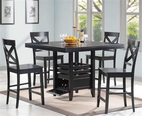 Dining Room. awesome black dining room table sets design