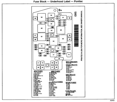2002 Buick Rendezvou Fuse Panel Diagram by 2002 Rendezvous Reset Computer Was Told Turn On Ignition