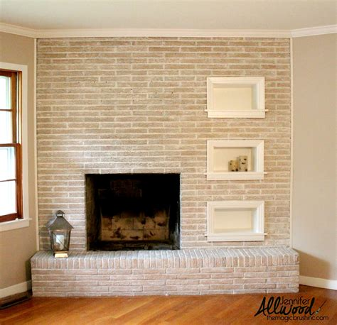 painted brick fireplace paint fireplace brick