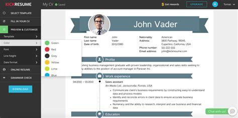 resume builder websites  build  perfect resume