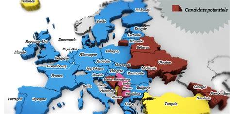 Carte Européenne Avec Capitales by Carte De L Europe De L Est Avec Les Capitales