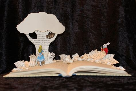 awesome harry potter book sculpture   geektyrant