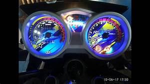 Speedometer Custom Vixion Old Dengan Jarum Indiglow