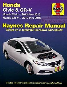 Shop Manual Civic Crv Service Repair Honda Book Cr