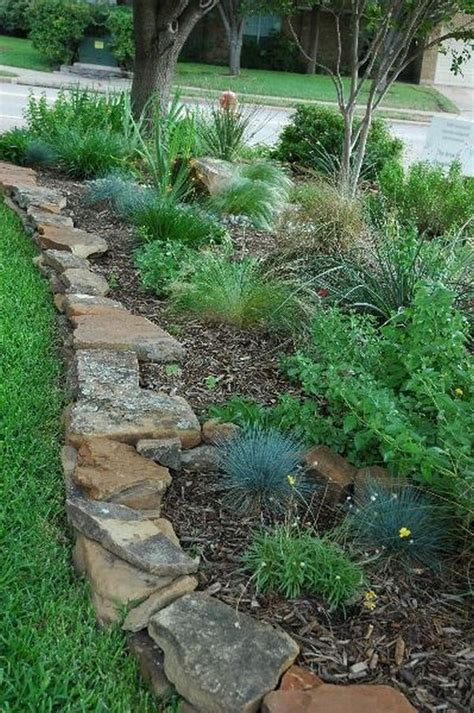 flower bed edging ideas  pinterest lawn