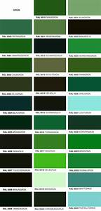 Wandfarbe Grün Palette : ral farben bersicht ~ Watch28wear.com Haus und Dekorationen