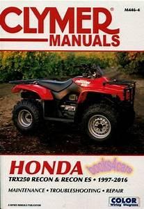 Recon Honda Shop Manual Service Repair Book 250 Clymer