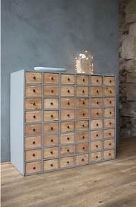 Meuble Multi Tiroirs : meuble de metier multi tiroirs petite belette ~ Teatrodelosmanantiales.com Idées de Décoration