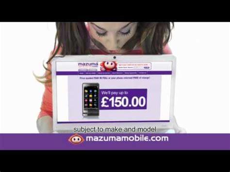 mazuma mobile mazuma mobile 2011 tv advert recycle phone