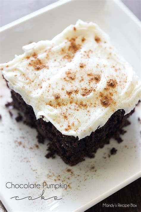 chocolate pumpkin cake chocolate pumpkin cake mandy s recipe box