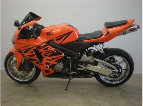 honda 600rr for sale 2006 honda cbr600rr 600rr for sale on 2040 motos