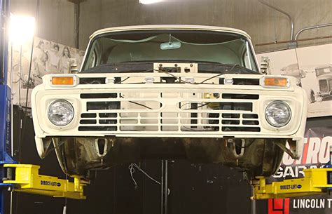 How to Swap a Cop Car Frame Under an F-100 Pickup - Hot ...