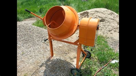 Mixer Directions by How To Assemble A Harbor Freight Cement Mixer