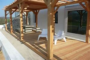 Cout D Une Pergola : devis pergola en bois mon ~ Premium-room.com Idées de Décoration