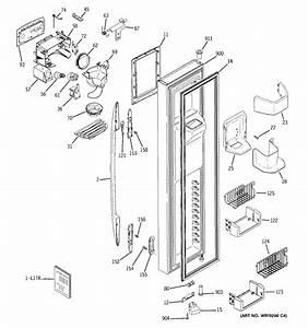 Ge Model Pss26sgpa Arctica Profile Refrigerator