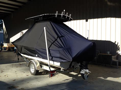 Carolina Skiff Boat Cover With T Top by Carolina Skiff 198 T Top Covers For Boats