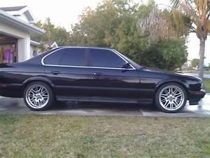 93 Black Bmw 525i W   M5 Wheels For Sale Or Trade