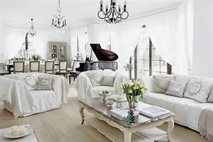 Einrichtung Shabby Chic : shabby chic wohnzimmer ~ Sanjose-hotels-ca.com Haus und Dekorationen