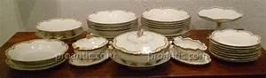 Service De Table Porcelaine : service de table en porcelaine de chez haviland porcelaines anciennes ~ Teatrodelosmanantiales.com Idées de Décoration