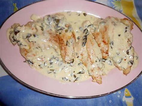cuisiner un filet de dinde recette d 39 escalope de dinde creme a l ail et basilic