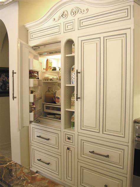 kitchen cabinets refrigerator panels outdoor refrigerator cabinet kitchen traditional with