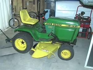 John Deere 317 Garden Tractor Reviews