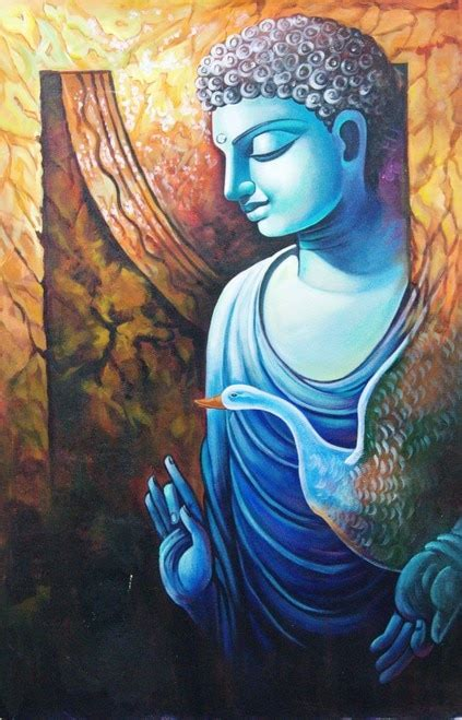 buy buddha paintings   india  affordable price