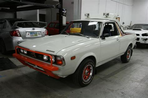 subaru brat baja bizarre car of the week 1978 subaru brat ny daily news
