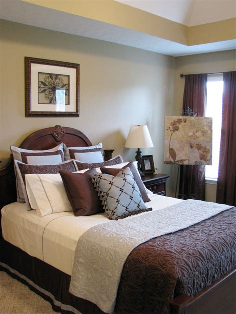 Blue And Brown Bedroom Decorating Ideas  Dream House