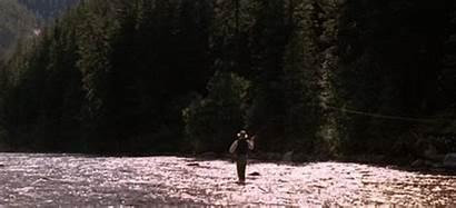 Fishing Fly Pitt Brad Through River Runs