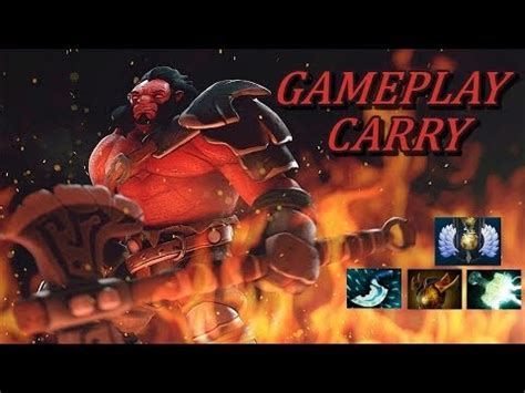 axe safelane carry ranked gameplay commentary dota 2 youtube