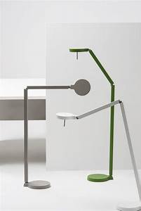 Claesson koivisto rune w081f floor lamp led h 96 cm for Led articulated floor lamp