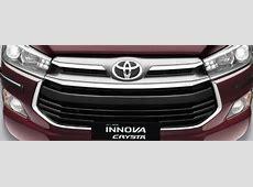 Toyota Innova Crysta Accessories Range, Price List in India