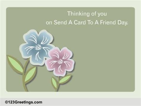 friendship beautiful send card friend day ecards