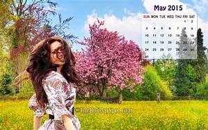 May Calendar Wallpaper 2015