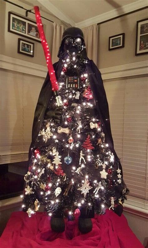darth vader christmas tree darth vader trees and i want on pinterest
