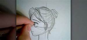 How to Draw a manga face sideways « Drawing & Illustration ...