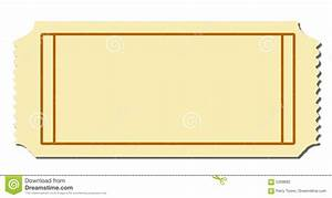 blank ticket/raffle ticket with space for text, Fully ...