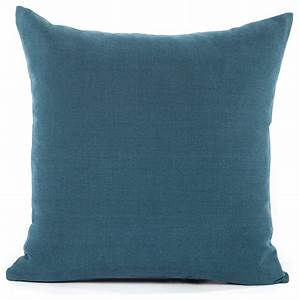 Solid navy blue accent throw pillow cover contemporary for Solid navy blue throw pillows