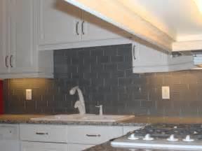gray kitchen backsplash gray glass backsplash 3x6 jersey custom tile