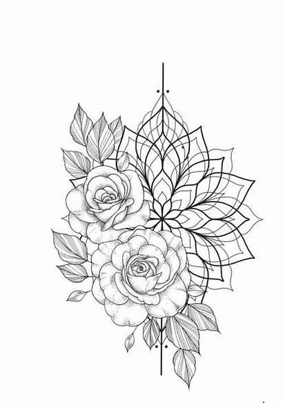 Tattoo Mandala Tattoos Floral
