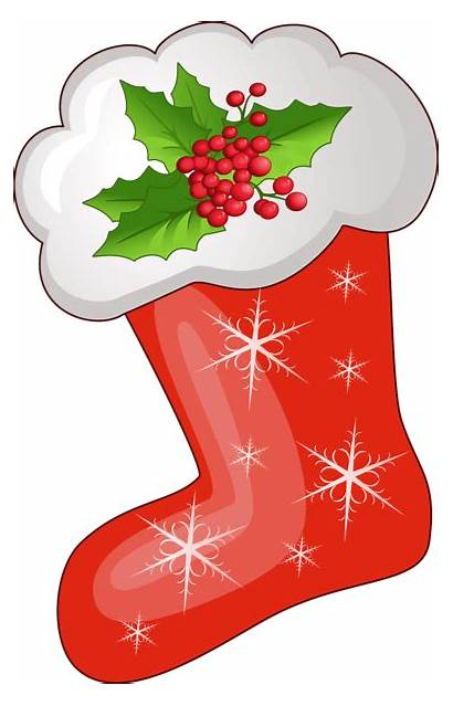 Stocking Christmas Clipart Clip Stockings Transparent Navidad