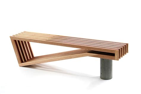 bureau bench a beautifully designed bench from sawdust bureau selectism